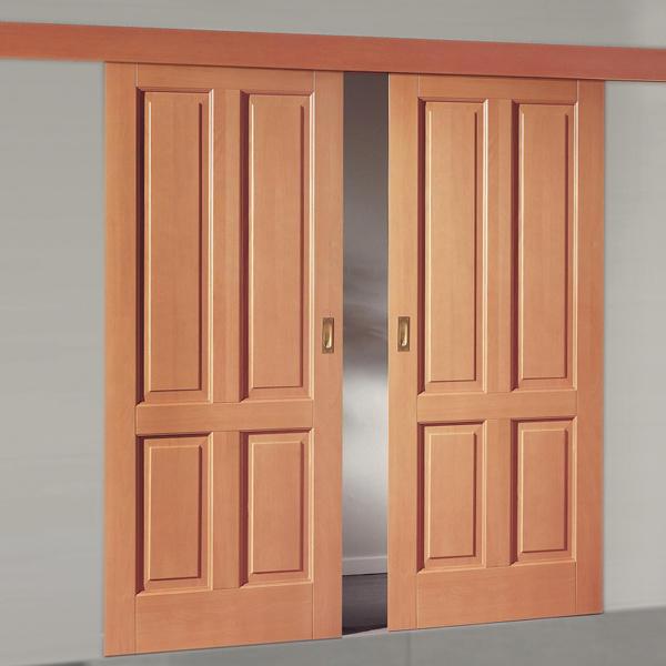 Doppelschiebetür Holz schiebetüren, türen nach maß, barrierefreies bauen & wohnen